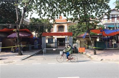 Hà Nội: Nữ cán bộ dương tính SARS-CoV-2, TAND huyện Thanh Oai tạm dừng hoạt động