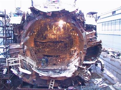 Giải mật vụ chìm tàu ngầm chấn động cả thế giới năm 2000