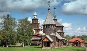 10 nhà thờ bằng gỗ độc đáo ở xứ sở Bạch Dương