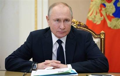 Tổng thống Putin ký sắc lệnh giới thiệu Hiến pháp sửa đổi