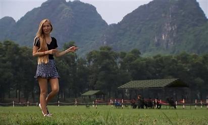 Phóng viên Nga khen thao trường Miếu Môn 'đẹp nhất Army Games'