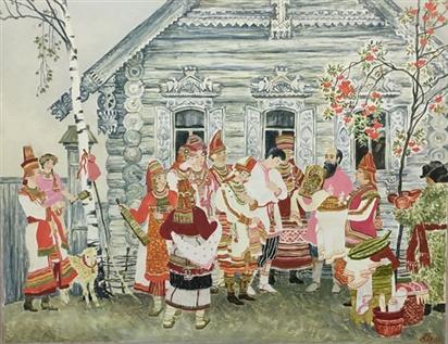 Khám phá những nét đặc sắc trong Nghi lễ cưới của các dân tộc Nga giữa lòng Hà Nội