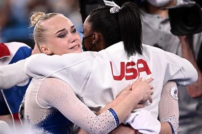 Hình ảnh gây xao động Olympic