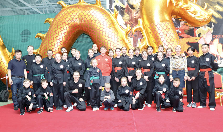 Tin ảnh: Liên đoàn Võ cổ truyền Việt Nam tại Nga tham dự giải Wushu mở rộng tại thành phố Orel