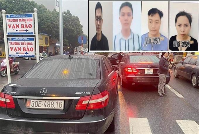 Hai xe Mercedes trùng biển số: Lộ đường dây làm giả giấy tờ, tiêu thụ xe gian