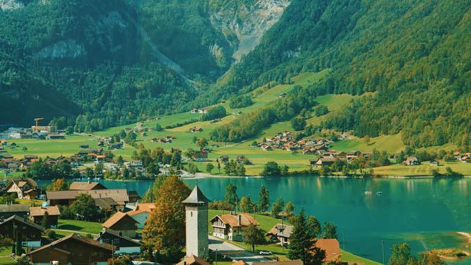 Thụy Sĩ đẹp như giấc mơ trong hành trình của 9X