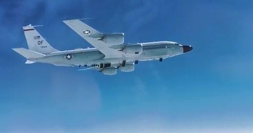 Cận cảnh video máy bay RC-135 của Mỹ bị đánh chặn trên Thái Bình Dương