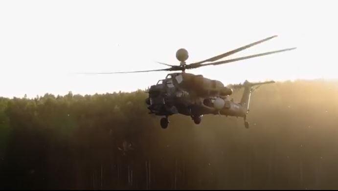 Video: Sức mạnh của trực thăng tấn công Mi-28 của Nga