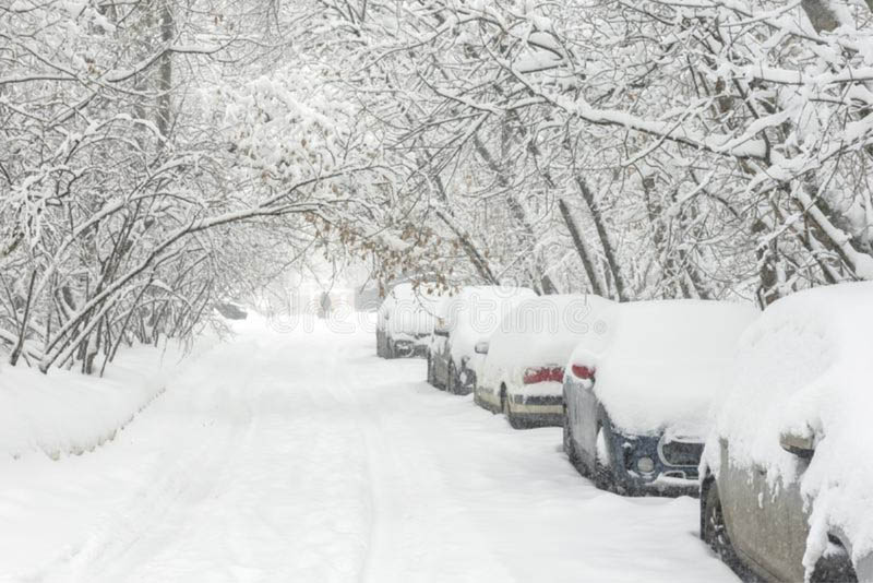 Trận tuyết đầu mùa tại Nga