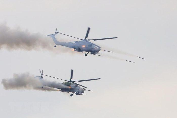 Mãn nhãn với màn hỏa lực tại cuộc tập trận Zapad-2021 ở Nga